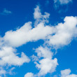 Stock Photo: Blue sky background.