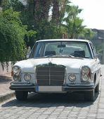 White retro limousine. — Stock Photo