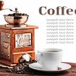 Old coffee mill — Stockfoto #9689423