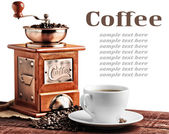 Old coffee mill — Stock Photo
