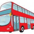 London Bus — Stock Vector