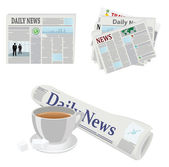 Newspapers — Stock Vector
