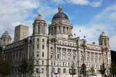 Port of Liverpool Building, UK — 图库照片