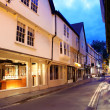 Evening street in York, UK - Foto de Stock  