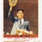 Corea del norte muestra a joven kim que Il sung — Foto de Stock