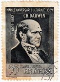 Charles Robert Darwin — Stock Photo