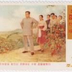 North Korea shows young Kim Il Sung — Stock Photo