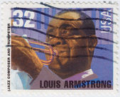 Louis Armstrong — Stock Photo