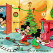 Mickey's Christmas Eve — Stock Photo #8020981