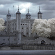 Tower of London on the Thames river, UK — Stock Photo #8112463