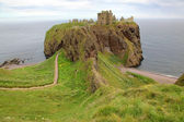 Dunnottar Castle, Scotland, UK — Stock Photo