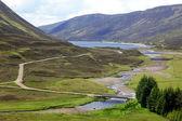 Classic Scottish Highland landscape — Stock Photo