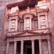 Al Khazneh - the treasury of Petra ancient city, Jordan — Stock Photo #8289934