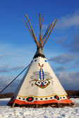 Classic native Indian tee-pee — Photo
