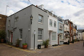 Typical English Houses at London — Stock Photo