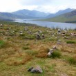 North part of  Scotland end of Loch Shiel, UK - Stock Photo