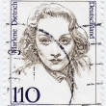 Постер, плакат: Marlene Dietrich