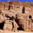Petra - Nabataeans capital city ( Al Khazneh ), Jordan - Stockfoto