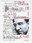 Poet and writer Cesare Pavese — Stock Photo