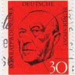 Постер, плакат: Chancellor Konrad Adenauer
