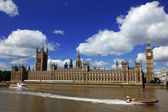 Big Ben and the House of Parliament, London, UK — 图库照片