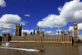 Big Ben and the House of Parliament, London, UK — Stok fotoğraf