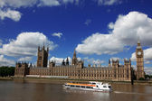 Big Ben and the House of Parliament, London, UK — Foto Stock