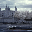 Tower of London on the Thames river, UK — Stock Photo