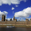 Big Ben and the House of Parliament, London, UK — Stock Photo