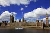 Big Ben and the House of Parliament, London, UK — Stock fotografie
