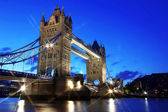 Evening Tower Bridge, London, UK — Stockfoto
