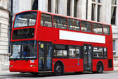 London Double decker red bus — Stock Photo