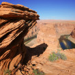 Rock at Horseshoe Bend,Arizona , USA — Stock Photo #9799479