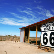 Historic rout 66 site, Arizona, USA - Stock Photo