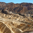 Zabriskie Point, Death Valley National Park, USA, California - Stock Photo
