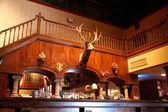 Stylový noční bar s retro výzdoba — Stock fotografie