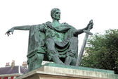 Statue of Constantine I in York, England , UK — Stock Photo