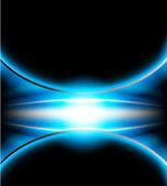 Fundo azul brilhante — Vetor de Stock