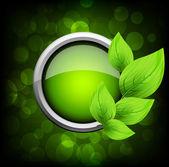 Leaves design — Stock Vector