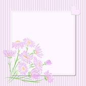 Vector greeting card. — Stock Vector