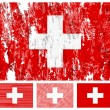Switzerland grunge flag set — Stock Vector #8747499