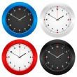 Wall clock — Stockvektor