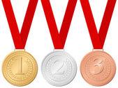 Sport medals — Stock Vector