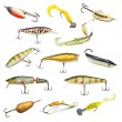 Royalty-Free Stock Photo: Fishing Baits Collection
