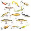 Fishing Baits Collection - Stock Photo
