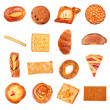 Sweet Bakery Collection — Stock Photo