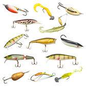 Pesca iscas coleção — Foto Stock