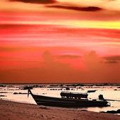 Sunset over Andaman Sea — Stock Photo