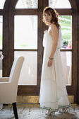 Bride in Hall — Foto Stock