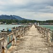 Concrete Pier - Stock Photo